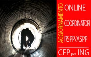 Corso Rischio amianto e ambienti confinati (Aggiornamento Coordinatori-RSPP) con crediti per Ingegneri